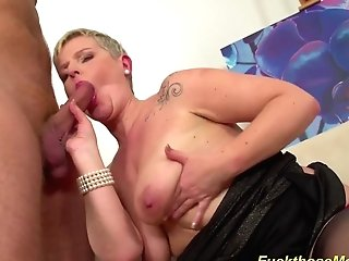 Big-chested Stepmom Needs A Strong Dick