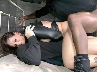 Huge-chested Matures Chick Leans Over For Her Masters' Engorged Dicks