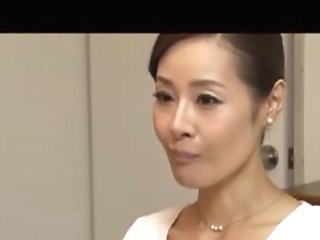 Japanese Mom Fucks Taboo Shaft