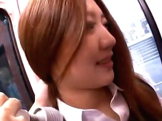 Incredible Japanese Model In Amazing Fake Penises/fucktoys, Outdoor Jav Clip
