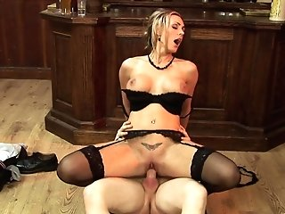 Gorgeous Blonde Tanya Tate Is Interested In A Boy's Penis