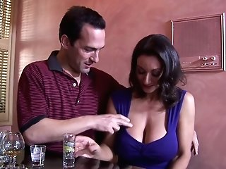 Jaw Ripping Off Seductress With Yummy Big Tits Persia Monir Gets Her Muff Munched And Fucked