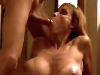 Mom With Big Knockers Mouthfuc...