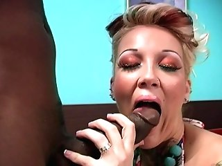 Candy Monroe Dresses Up Her Cheating As A Fairy And Rails Black Fuckpole