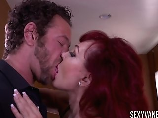 Matures Sexy Vanessa Wears Black Undergarments And Fucks With Her Paramour