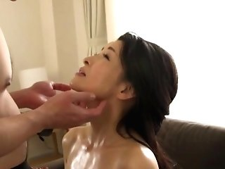 Bashful Japanese Darling Taunts With Her Boobies And Humid Cooter