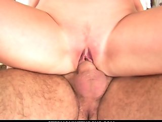 Beautiful Blonde Mom Sucking Off Big  Lollipop
