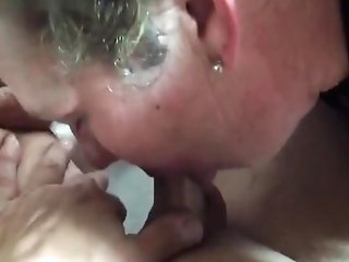Wifey Sucking And Eating Man-meat