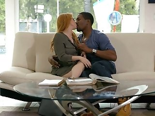 Ginger Cougar With Flawlessly Shaped Assets Penny Pax Goes Black For The Very First Time