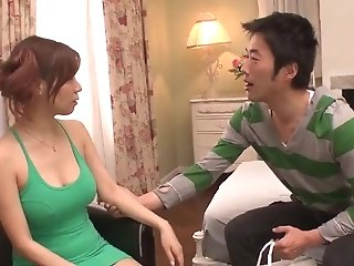 Buxom Chihiro Akino Works A Big Dick Like A Queen - More At Javhd.net