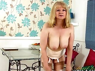 Horny Porn Industry Star In Incredible Stockings, Getting Off Xxx Vid