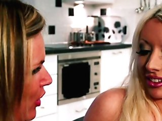 Summer Rose And Valerie Fox Are Interested In A Guy's Erected Contraption
