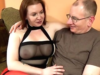 This Big Tit Brown-haired Bbw Just Wished To Have Her Fuckhole Rammed