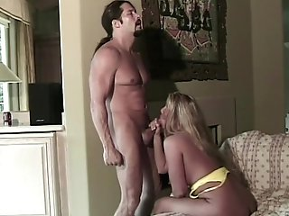 Big Tit And Fat Butt Blonde Cougar Gets Doggystyle