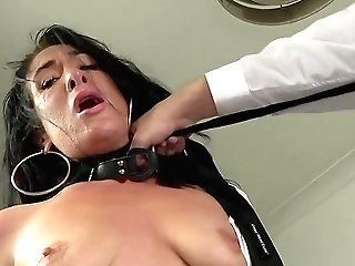 Male Domination Movie Of Tantalizing And Bang-out With Ella Bella Wearing A Dog Collar