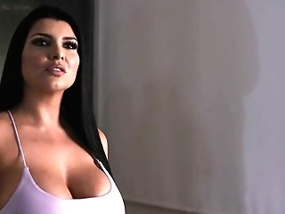 Big-boobed Romi Rain Needs A Large Dick To Pleasure Her Cravings