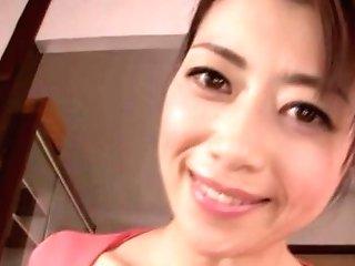 Point Of View Homemade Vid Of Super-cute Maki Hojo Providing A Nice Blow-job