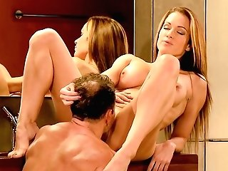 Melons Sucking, Oral And Hot Romp Are Part Of The Plan For Stacy Silver