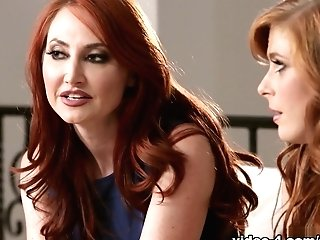Incredible Porn Industry Stars Penny Pax, Kendra James In Exotic Cuni, Fingerblasting Orgy Scene