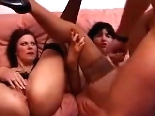 Exotic Homemade Clip With Stockings, Mummy Scenes
