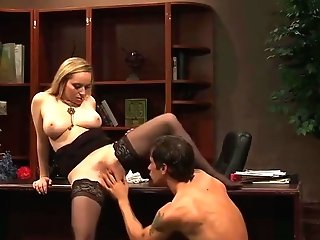Assistant Black Strockings Aiden Starr Hard Fucking