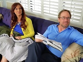 Nasty Mummy Syren De Mer Joins Fit Gf Kenzie Reeves For A Threesome