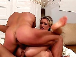 Threesome Anal Invasion The Hard Way For Cherry Jul