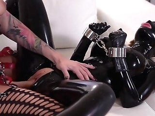 Harsh Housewife With Big Dick Fucks Her Servant Spandex Lucy