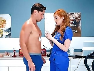Nurse With Hairy Cooch, Deep Pumped By A Hot Patient