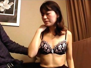 Japanese Gonzo Duo Rear End Style Bang-out With A Matures Brown-haired