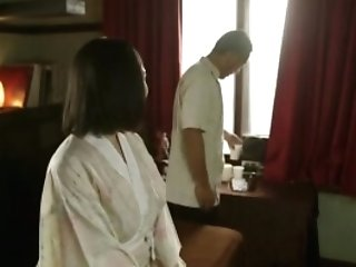 Japanese Cougar Gang-fucked By Old Boys
