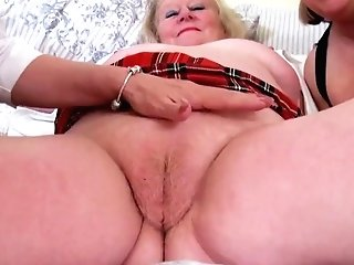 Oldnanny Matures Threesome All Girl Getting Off