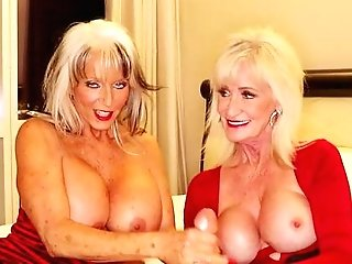 Sexually Aroused Grannies Share The Dick For Oral Elations