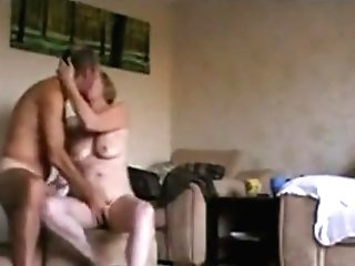 Matures Duo Banging On The Floor