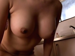 Manga Cougar Gets Screwed In The Kitchen - Milfsinjapan