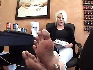 Matures Blonde Feet