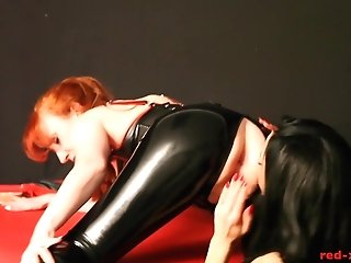 Crimson Fucked By Her Gfs Strap On