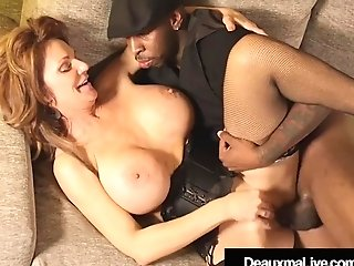 Cougar Deauxma Fucked In Her Matures Muff By A Big Black Prick