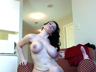 Dark Haired Matures First-timer Cougar Stacey Ray Masturbates With Playthings
