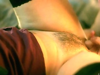 Alluring Hairy Cooter Of Sexually Charged Mummy Silvia Lauren