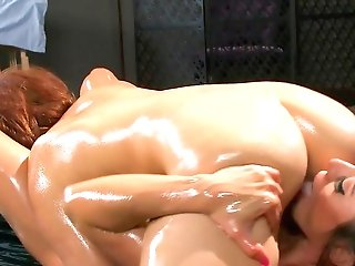 Voluptuous Rubdown Leads Both Honies To Spunky Moments