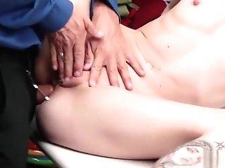 Fabulous Fucky-fucky Flick Puny Tits Hot Pretty One