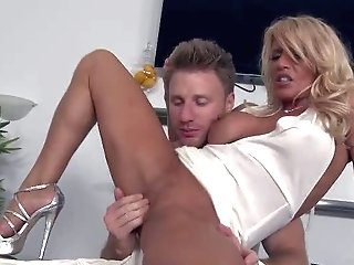 She's A Super Sexy Mummy With Blonde Hair And Flawless