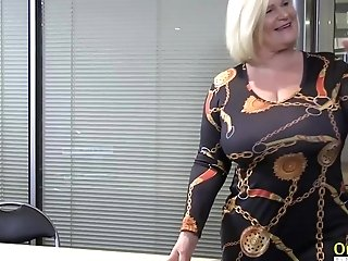 Oldnanny Brit Matures And Girly-girl Striptease