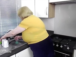 Getting Moist In The Kitchen