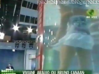 Latina Model Viviane Araujo Big Donk Swimsuit Panty Upskirt !