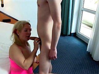 Pimple Boy Fucks German Mom