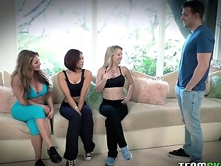 Spectacular Stud Ultimately Gets To Bang Laura Bently And Other Ladies At Once