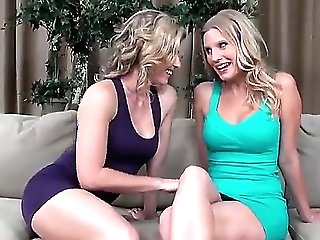 Sweet And Sultry Lezzy Activity With Blondes