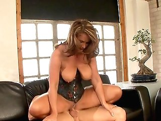 Premium Cougar Acts Wild When The Dick Is Inwards Her